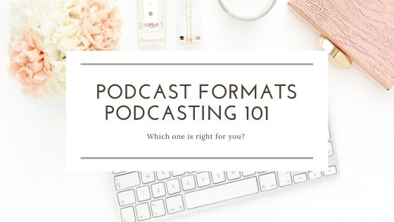 Blog title Podcasting formats